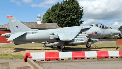 ZD469 - British Aerospace Harrier GR.7A - United Kingdom - Royal Air Force (RAF)