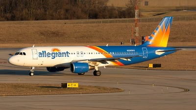 N280NV - Airbus A320-214 - Allegiant Air