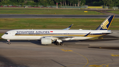 A picture of 9VSGD - Airbus A350941 - Singapore Airlines - © JC_AM