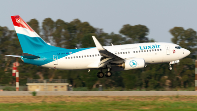 LX-LBT - Boeing 737-7K2 - Luxair - Luxembourg Airlines