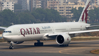 A7-BAW - Boeing 777-3DZER - Qatar Airways