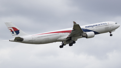 9M-MTG - Airbus A330-323 - Malaysia Airlines