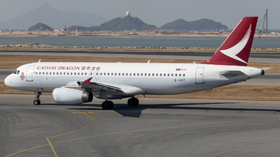 B-HST - Airbus A320-232 - Cathay Dragon