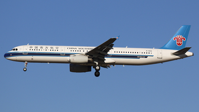 B-1606 - Airbus A321-231 - China Southern Airlines
