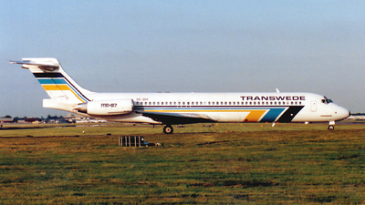 SE-DHI - McDonnell Douglas MD-87 - Transwede Airways