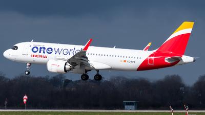 A picture of ECNFZ - Airbus A320251N - Iberia - © Chris de Breun