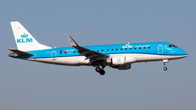 A picture of PHEXJ - Embraer E175STD - KLM - © Sebastian Sowa