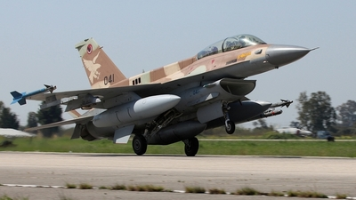 041 - Lockheed Martin F-16D Barak - Israel - Air Force
