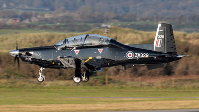 ZM329 - Raytheon T-6C Texan T1 - United Kingdom - Royal Air Force (RAF)