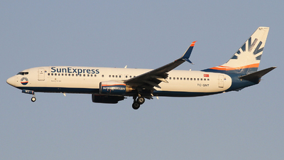 A picture of TCSNT - Boeing 7378HC - SunExpress - © Ali Mithat Ozdogan