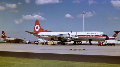 VH-RMB - Lockheed L-188A Electra - Ansett Airlines of Australia