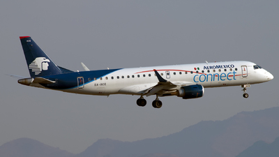 XA-ACE - Embraer 190-100LR - Aeroméxico Connect