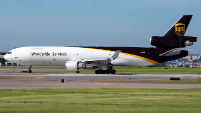 A picture of N293UP - McDonnell Douglas MD11F - UPS Airlines - © Steve Rinde