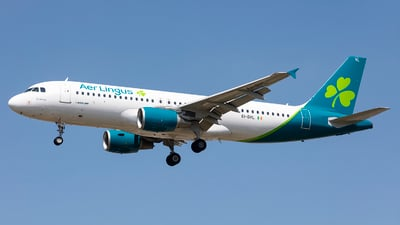 A picture of EIDVL - Airbus A320214 - Aer Lingus - © X Pan