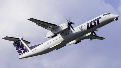 OY-YBY - Bombardier Dash 8-Q402 - LOT Polish Airlines (Nordic Aviation Capital (NAC))