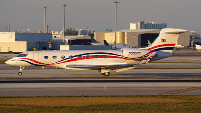 N305CC - Gulfstream G650ER - Private