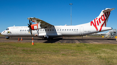 A picture of VHVPJ - ATR 72600 - Virgin Australia - © James Saunders
