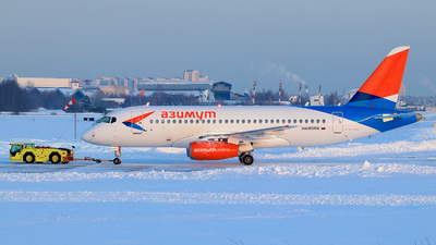 89096 - Sukhoi Superjet 100-95LR - Azimuth Airlines