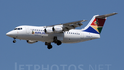 ZS-SYP - British Aerospace Avro RJ85 - Airlink