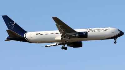 EI-DBP - Boeing 767-35H(ER) - Blue Panorama Airlines