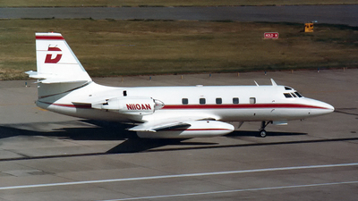 N110AN - Lockheed L-1329 JetStar 731 - Private