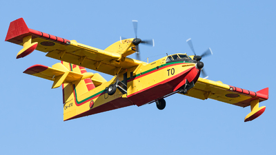 CN-ATQ - Canadair CL-415 - Morocco - Air Force