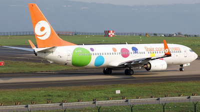 A picture of B1715 - Boeing 7378GP - 9 Air - © diqin265