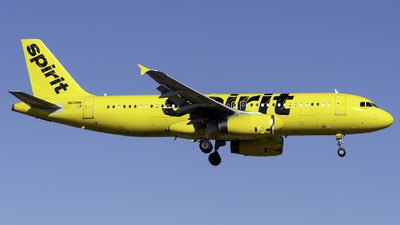 N609NK - Airbus A320-232 - Spirit Airlines