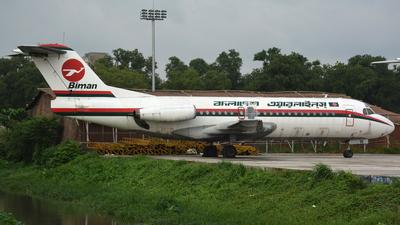 S2-ACW - Fokker F28-4000 Fellowship - Biman Bangladesh