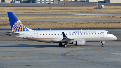 A picture of N80348 - Embraer E175LR - United Airlines - © Justin Lawrence