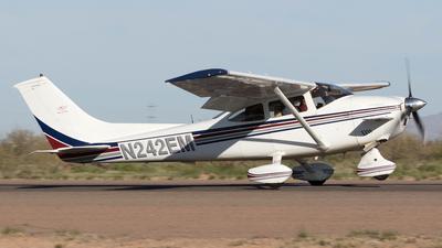 A picture of N242EM - Cessna 182P Skylane - [18263224] - © Felipe Garcia