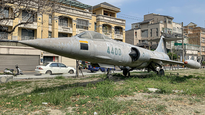4400 - Lockheed F-104G Starfighter - Taiwan - Air Force