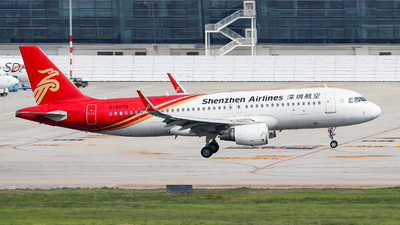 A picture of B8079 - Airbus A320214 - Shenzhen Airlines - © Xuanting Wang