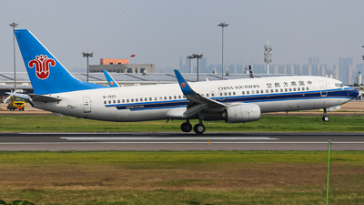 A picture of B1925 - Boeing 73786N - China Southern Airlines - © ZHHH-AIR