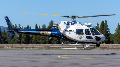 N978HP - Eurocopter AS 350B3 Ecureuil - United States - California Highway Patrol (CHP)