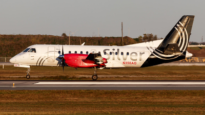 A picture of N350AG - Saab 340B - Silver Airways - © Oliver Richter
