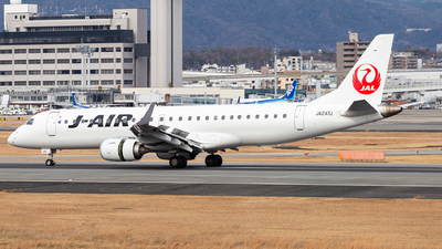 A picture of JA247J - Embraer E190STD - Noble Air Charter - © LUSU