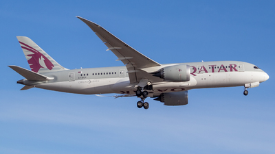 A picture of A7BCP - Boeing 7878 Dreamliner - Qatar Airways - © Anujan Anton Jerad -aj-aviation-spotter
