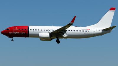 EI-FHL - Boeing 737-8JP - Norwegian