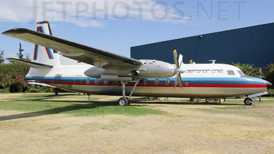 CC-CBS - Fairchild F-27J - Aeronor Chile