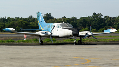 AF-4015 - Cessna 401A - Indonesia - Air Force