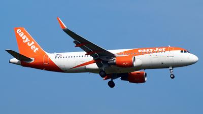 OE-IZJ - Airbus A320-214 - easyJet Europe