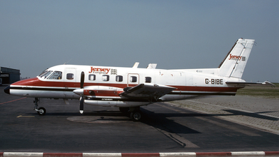 G-BIBE - Embraer EMB-110P1 Bandeirante - Jersey European Airways