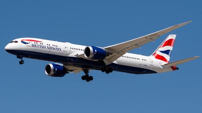 A picture of GZBKB - Boeing 7879 Dreamliner - British Airways - © Yaacov Glezer