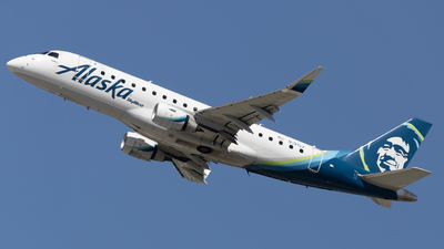 A picture of N191SY - Embraer E175LR - Alaska Airlines - © Angelos Panou