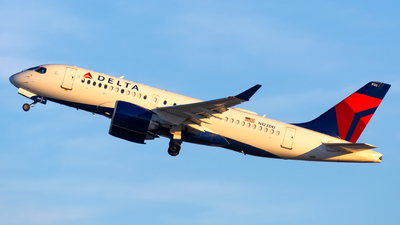 A picture of N122DU - Airbus A220100 - Delta Air Lines - © Kevin Cargo