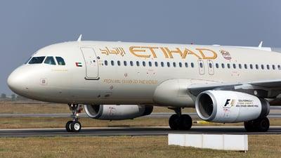 A picture of A6EIK - Airbus A320232 - Etihad Airways - © Girish B