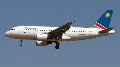 V5-ANK - Airbus A319-112 - Air Namibia