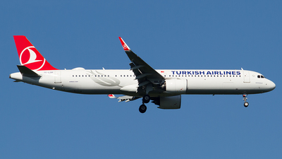 A picture of TCLSH - Airbus A321271NX - Turkish Airlines - © Paolo Maggiolo
