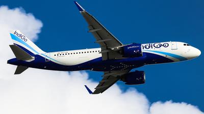 A picture of VTIJC - Airbus A320271N - IndiGo - © Chow Kin Hei - AHKGAP